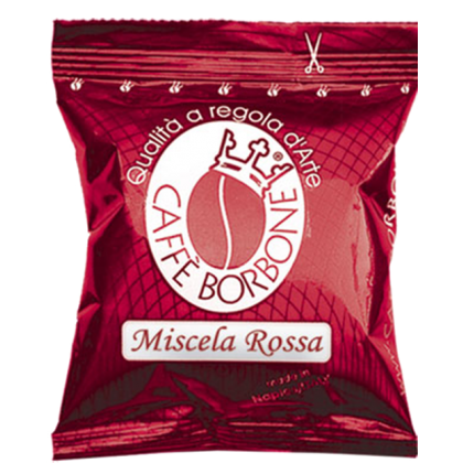100 Capsule Borbone Red Compatibili Lavazza Espresso Point